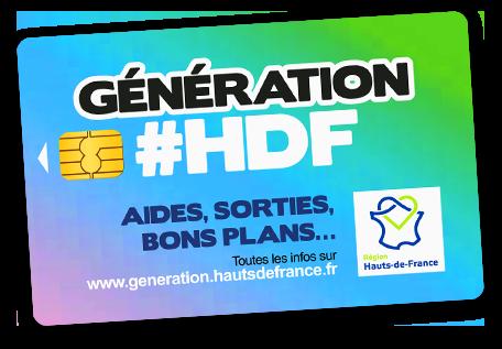 carte génération haut de france Génération #HDF   Génération Hauts de France